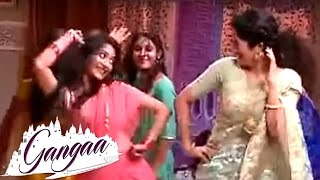 Download Aditi Sharma Dance With Gangaa &TV Serial Co Stars | Behind The Scenes | On Location | &tv Serial Video