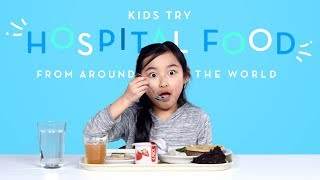 Download Kids Try Hospital Food From Around The World   Kids Try   HiHo Kids Video
