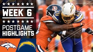 Download Broncos vs. Chargers (Week 6) | Game Highlights | NFL Video