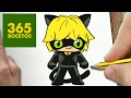 Download COMO DIBUJAR CAT NOIR KAWAII PASO A PASO - Dibujos kawaii fáciles Video