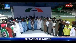 Download 2019 Elections: PDP Announces Atiku Abubakar As Presidential Candidate Video