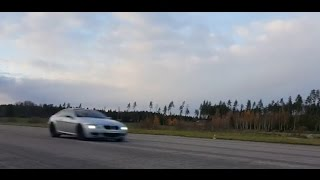 Download BMW M6 Coupe V10 flyby Video