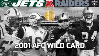 Download Gruden's Last Playoff Win With Raiders! (Jets vs. Raiders, 2001 AFC Wild Card)   Vault Highlights Video