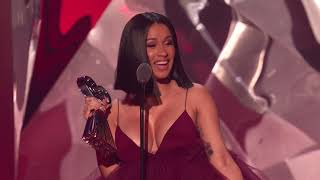 Download Cardi B Acceptance Speech - Best New Artist | 2018 iHeartRadio Music Awards Video