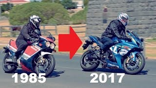 Download Suzuki GSX-R History (1985 - 2017) | Evolution of a SuperBike | Full Documentary Video