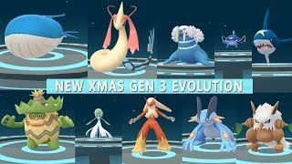 Download Pokemon Go Best of Gen 3 Evolution Ludicolo, Wailord, Milotic, Gardevoir, Slaking! Video