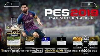 PES 2019 PPSSPP Android Offline 250MB Best Graphics New Transfer