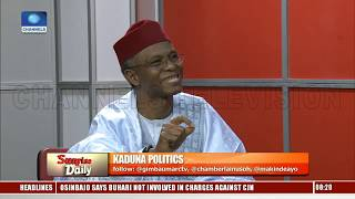 Download CJN's Trial: Why Should The President Know About Prosecution Of Anyone? El-Rufai Asks Video