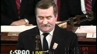 Download Lech Walesa - Legendary 1989 Speech in U.S. Congress Video