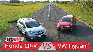 Download Honda CR-V vs VW Tiguan - Test Técnico Comparativo - Todo por el espacio Video