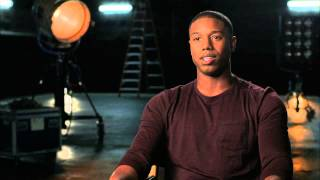 Download The Fantastic Four: Michael B. Jordan ″Johnny Storm″ Behind the Scenes Movie Interview -2015 Video