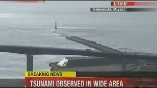 Download Tsunami Hits Miyagi Japan 2016 - Earthquake Fukushima Japan 2016 Footage Video