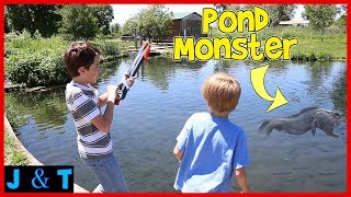Download Hunting The Pond Monster / Jake and Ty Video