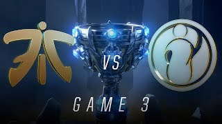Download FNC vs IG | Finals Game 3 | World Championship | Fnatic vs Invictus Gaming (2018) Video