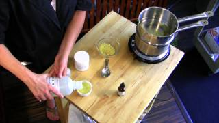 Download How to Make Lanolin & Beeswax Skin Cream : Natural Skin Care Video