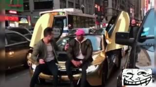 Download Gold BMW window SMASHED - Karma Video