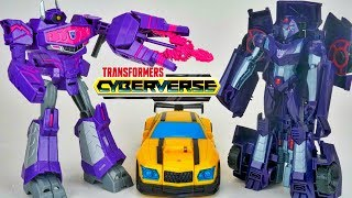Download Transformers Cyberverse Ultra Shockwave Shadow Striker Action Attack Bumblebee Video