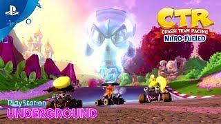 Download Crash Team Racing Nitro-Fueled - Adventure Mode Gameplay | PlayStation Underground Video
