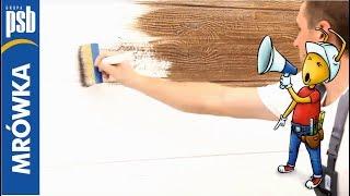 Download Tynk dekoracyjny o strukturze drewna Video