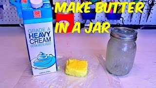 Download How to Make Butter in a Jar Video