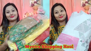 Download Myntra Shopping Haul || Myntra Party Wear Saree Shopping || Saree Under 1500 Video