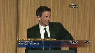 Download C-SPAN: Seth Meyers remarks at the 2011 White House Correspondents' Dinner Video