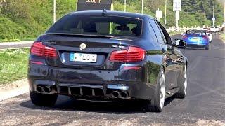 Download Supercars Leaving Car Meet LOUD! BMW M3, M5, 488, GT3, C63 Video