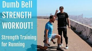 Download Strength Training for Running | Dumbbell Workout for Hips and Shoulders Video