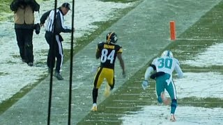Download Antonio Brown's Near Miracle in the Snow | NFL Classic Game Highlights Video