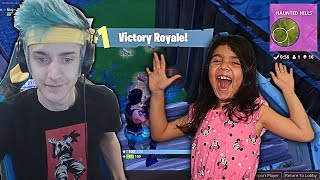 Download 5 YEAR OLD LITTLE SISTER Reacts to the Best Fortnite Player! (Ninja) - Top 15 Best Fortnite Plays Video