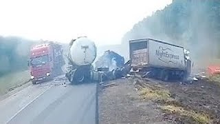 Download World's Most Stupid TRUCK And CAR Drivers! Extreme Driving Fails August 2017 Video