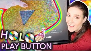 Download Painting my YouTube Play Button with HOLO NAIL POLISH Video