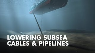 Download Lowering Subsea Cables and Pipelines Video