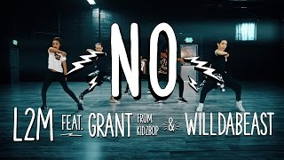 """Download L2M ft. Grant from KIDZ BOP & Wildabeast - """"NO"""" - [Meghan Trainor Cover] Video"""