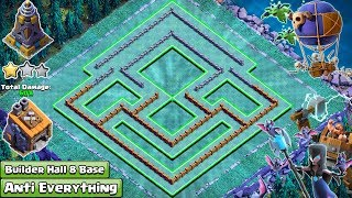 Download New Best BH8 Base 2018   New COC Builder Hall 8 Base with extra walls   Clash of Clans 2018 Video