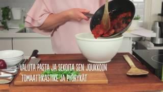 Download APETIT RESEPTI - Apetit Tuoreet Kasvisjauhispyörykät ja Pastaa Tomaattikastikkeessa Video
