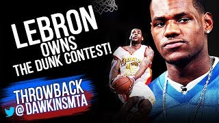 Download All DUNKS Of 2003 HS Dunk Contest - Young LeBron OWNS it! | FreeDawkins Video