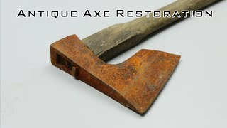 Download Antique Axe Restoration Step by Step Video