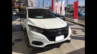 Download HONDA マイナーチェンジ新型VEZEL「ヴェゼル」HYBRID RS Honda SENSING 人気のSUVをみてきました! Video