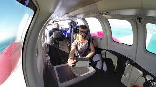 Download Flying a Brand New Baron! - EPIC IFR Flight / Fishing VLOG Video