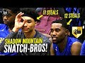 Download They Make DEFENSE EXCITING! Team Couldn't Get PAST HALFCOURT! Jaelen House 17 Steal Triple Double! Video