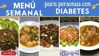 Download Menú semanal para DIABÉTICOS fácil y barato | Cocina de Addy Video