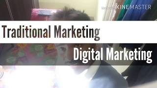 Download Traditional marketing vs digital marketing Video