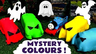 Download Learn Colors with spooky Thomas & Friends toy trains in Play doh - Train toys for kids TT4U Video