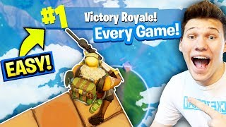 Download HOW TO WIN SOLO FORNITE 99.99% OF THE TIME (BEST STRATEGY) Fortnite: Battle Royale Video