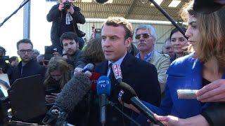 Download Macron attaque la ″combine″ de Le Pen avec Dupont-Aignan Video