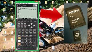 Download Tutorial - HP 50G Passo a passo Colocando lembretes (colas) na calculadora Video