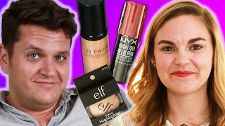 Download Women Challenge Their Boyfriends To Find Them A $50 Makeup Look Video