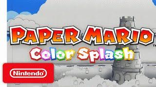 Download Paper Mario: Color Splash Trailer – The Adventure Unfolds Video