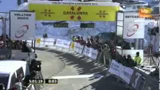 Download Momento del Triunfo Nairo Quintana en Volta a Catalunya - Etapa 3 - Instantes Finales Video